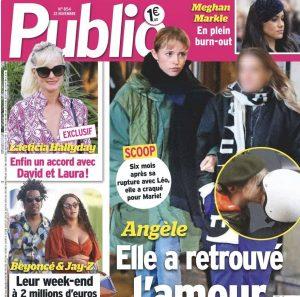 Angèle en couple public
