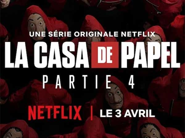 Que regarder sur Netflix? La casa de papel