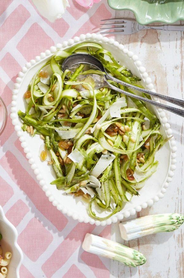Salade d'asperges au parmesan