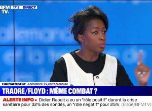 Hapsatou Sy sur le sviolences policières à BFMTV