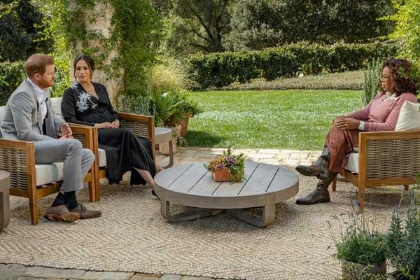 Meghan et Harry chez Oprah, à regarder sur TMC